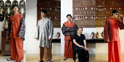 KIMONOKU, Kolaborasi Budaya Jepang dan Jambi Untuk Pria Masa Kini