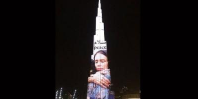 Menara Burj Khalifa Pasang Foto Jacinda Ardern