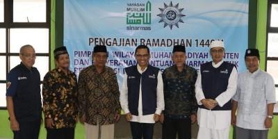 Yayasan Muslim Sinar Mas Bantu Rekonstuksi Rumah Ibadah dan Sekolah Banten