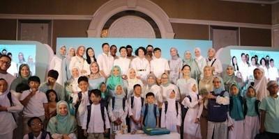 Wardah Berbagi Kebahagiaan Ramadan Bersama Anak-Anak Tuli Rumah Belajar The Little Hijabi