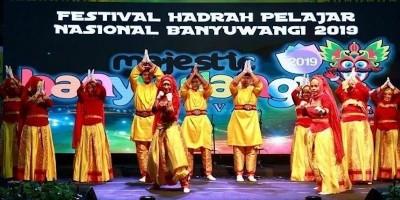 Festival Hadrah Pelajar Nasional Kenalkan berbagai Varian Shalawat