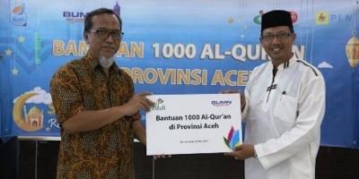 PLN Sumbangkan 34.000 Al Quran untuk 34 Provinsi di Indonesia