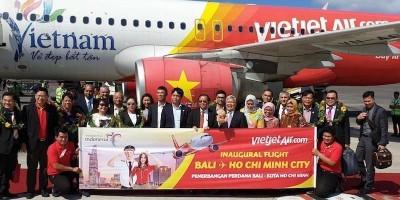 Mulai Juli Vietjet Terbang ke Bali Setiap Hari