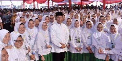 Ini Pesan Lebaran Presiden Jokowi