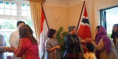 Udara Dingin dan Hujan Gerimis Tidak Menghalangi Kemeriahaan Idul Fitri di Norwegia