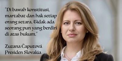 Ini Zuzana Caputova Presiden Wanita Pertama di Slovakia