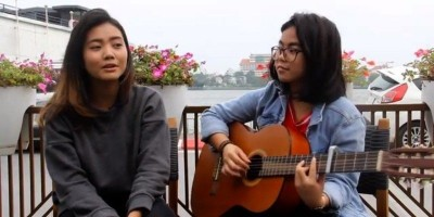 Azka dan Raina Bawa Bendera Vietnam, Harumkan Nama Indonesia