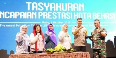 Pimpinan Kota Bekasi Raih Prestasi, LSPR Gelar Tasyakuran