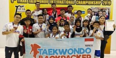 Taekwondo Backpacker, Mewujudkan Mimpi Atlet Bertanding ke Luar Negeri