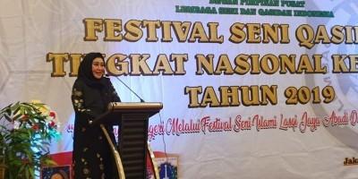 Lisda Hendrajoni: Festival Qasidah Bisa Minimalisir Kenakalan Remaja