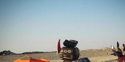 Ride For Mom, Mengendarai Nmax Rider Asal Jambi Tiba di Kota Suci Mekkah