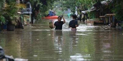 Wilayah Jabotabek Yang Terendam Banjir Awal Tahun 2020