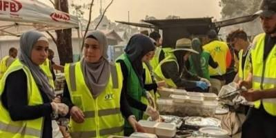 Galang Donasi dan Memasak, Aksi Hijabers Australia Membuat Haru Tim Pemadam Kebakaran