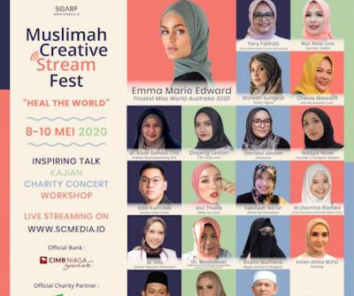 Muslimah Creative Stream Fest 2020: Heal  The World