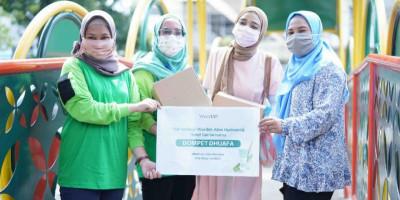 Edukasikan Cuci Tangan, Wardah Bagikan 30.700 Hand Sanitizer Gratis
