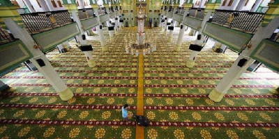 Cabut Pembatasan, Singapura Buka Kembali Masjid Pada 2 Juni