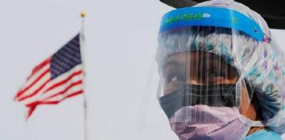 Kematian Covid-19 Di AS Tembus 100 Ribu, Joe Biden: Bangsa Ini Berduka