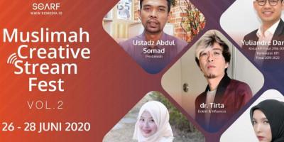 Muslimah Creative Stream Fest Volume 2 Segera Digelar, Kian Menarik & Informatif