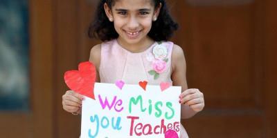 Di Tengah Pandemik Anak-anak Sekolah Di Abu Dhabi Merindukan Guru-gurunya, Ini Pesan Mengharukan Mereka