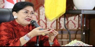 Istri Gubernur Bali Putri Koster Sampaikan Dukungan Untuk Pramuka Milenial Di Tengah Pandemik