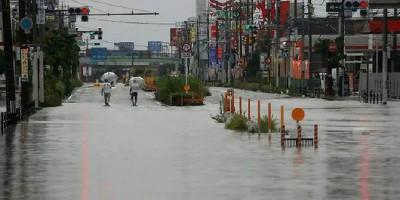 Jepang Siaga, Hujan Lebat Berpotensi Banjir Bergerak Ke Tengah