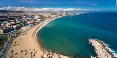 Waswas Gelombang Kedua Covid-19, Barcelona Batasi Pengunjung Pantai
