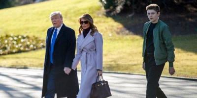 Sekolah Putra Bontot Trump Dilarang Dibuka Kembali Hingga Oktober 2020
