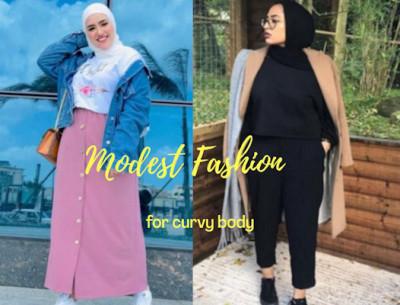 5 Tips Gaya Modest Fashion Untuk Tubuh Curvy