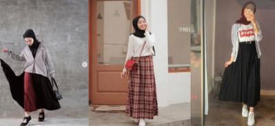 5 Inspirasi Mix & Match Maxi Skirt Sesuai Gayamu