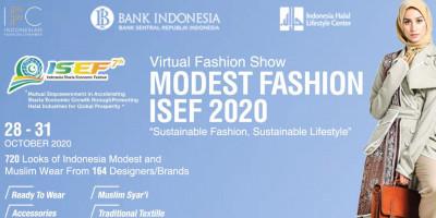 Simpel Elegan, Warnai Modest Fashion Show Virtual ISEF 2020 Hari Kedua