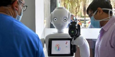 Di India, Robot Turun Tangan Dalam Perang Melawan Virus Corona