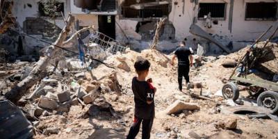 Cerita Ibu Di Jalur Gaza: Harus Tenang Demi Anak Saat Bom Israel Menghantam