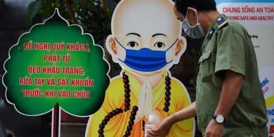 Waswas Virus Corona Varian Hibrida, Vietnam Siap Tes Seluruh Warga Kota Ho Chi Minh