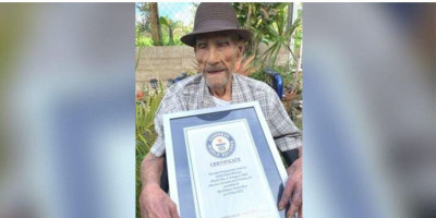 Kunci Hidup Bahagia Dari Pria Tertua Di Dunia: Banyak Cinta, Tanpa Kemarahan