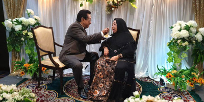 Istri Aktor Anwar Fuady Positif Covid-19, Dirawat Di UGD RS Ciputra