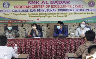 SMK 2 LPPM-RI Majalaya & SMK Al Badar Siap Wujudkan Pelajar Pancasila