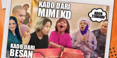 Wow, Adik Atta Ulang Tahun, Krisdayanti Kirim Kado Ke Malaysia