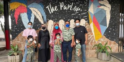 Bersantap Siang di 'Ruang Tamu' Pensiunan Garuda Indonesia